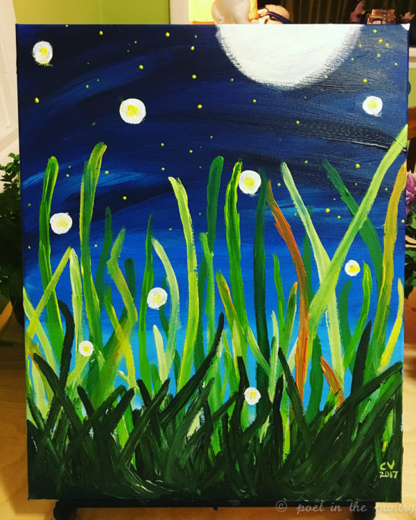 Painting also kept me busy.