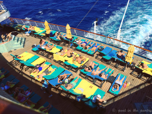 21+ Serenity Deck on the Carnival Elation