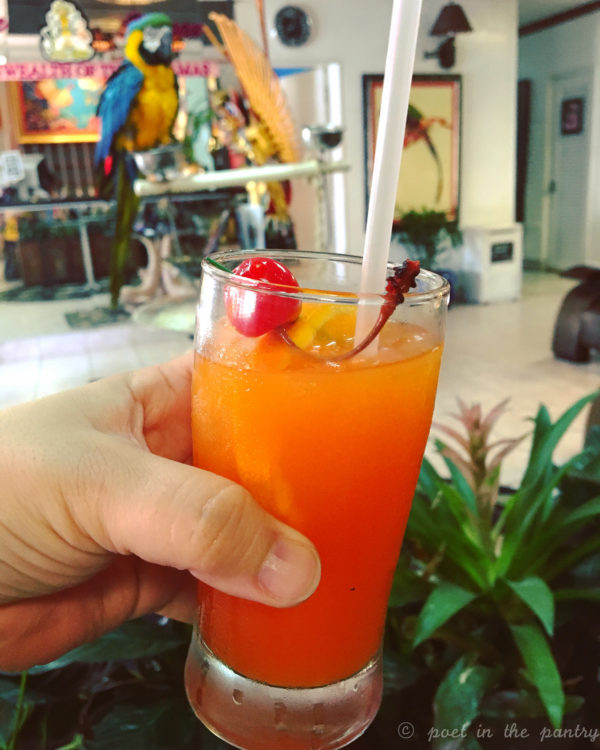 Planter's Punch at the Talking Stick at Towne Hotel Restaurant & Bar