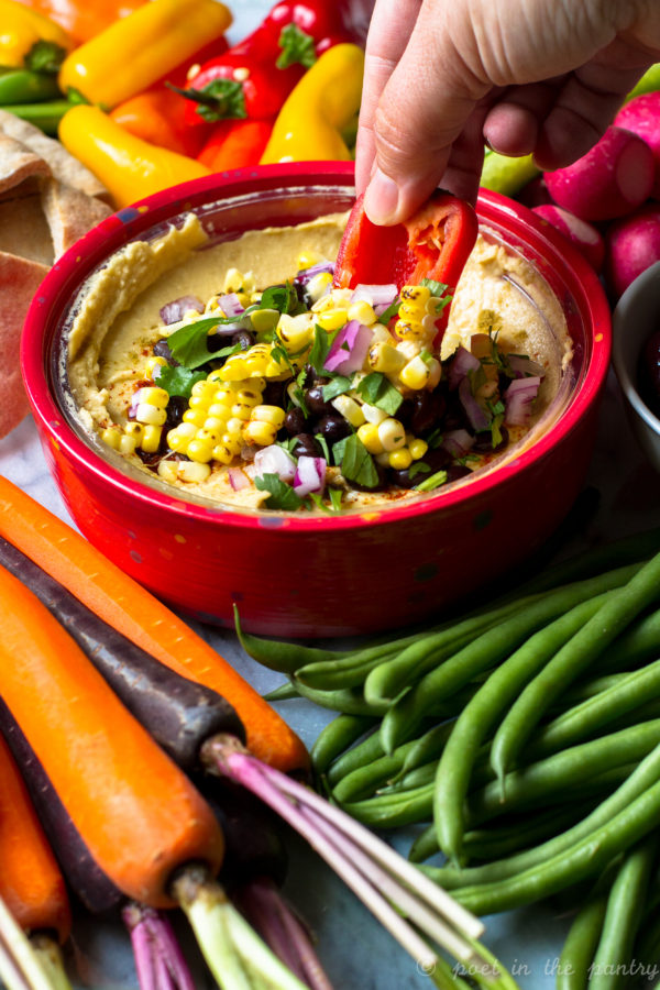 Celebrating National Hummus Day with a Southwestern Twist! #ad #unofficialmeal #nationalhummusday
