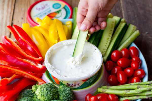 AD: Sabra's new Tzatziki dips bring some excitement to your apps.