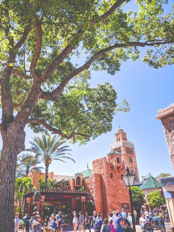 Morocco pavilion, Epcot, Walt Disney World
