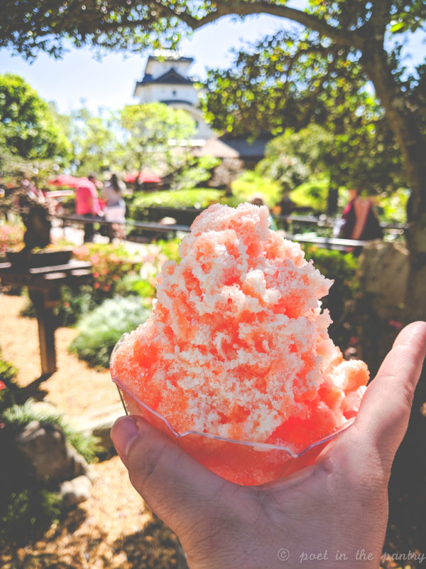 Tangerine Kakigōri