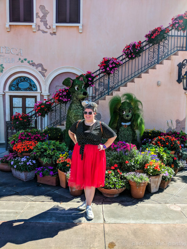 looking fabulous in Italy at Disney's Epcot