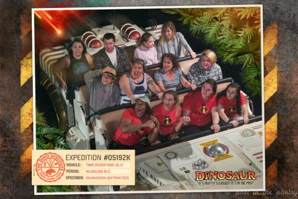 Dinosaur ride, Animal Kingdom, Walt Disney World
