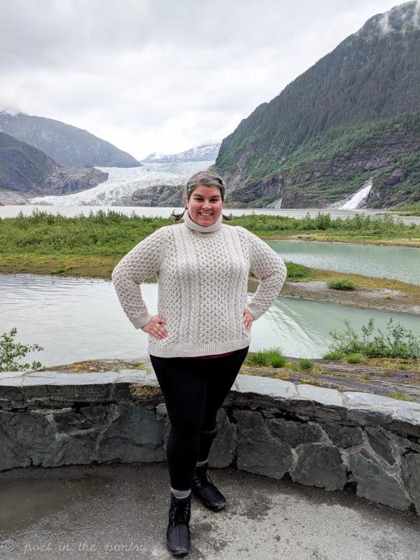 Photo Point at Mendenhall Glacier, Juneau, Alaska