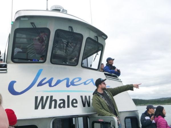Juneau Tours & Whale Watch boat - Kris, the naturalist